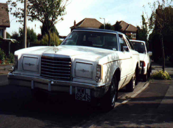 1978 Ford Thunderbird & 1984 Ford Orion